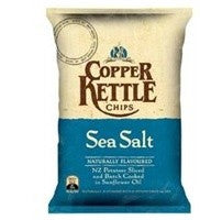 COPPER KETTLE CHIPS SEA SALT 150G