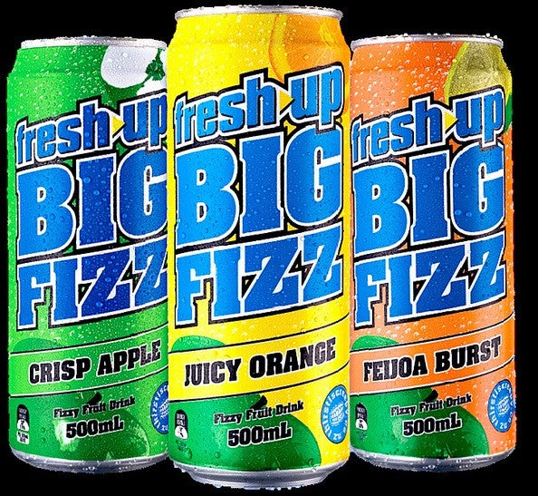 FRESH UP BIG FIZZ 500ML