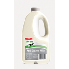 2 X GREEN VALLEY FULL CREAM MILK 2L