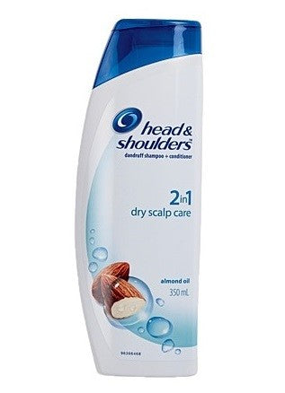 HEAD & SHOULDERS SHAMPOO 2IN1 DRY SCALP CARE 350ML
