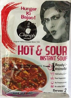CHING'S HOT & SOUR INSTANT SOUP 30GM