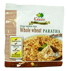 KAWAN WHOLE WHEAT PARATHA 400GM