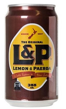 L & P SOFT DRINK 355ML