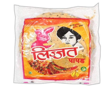 LIJJAT RED CHILLI PAPAD 200GM