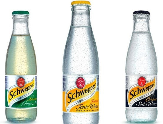 SCHWEPPES SOFT DRINKS 330ML