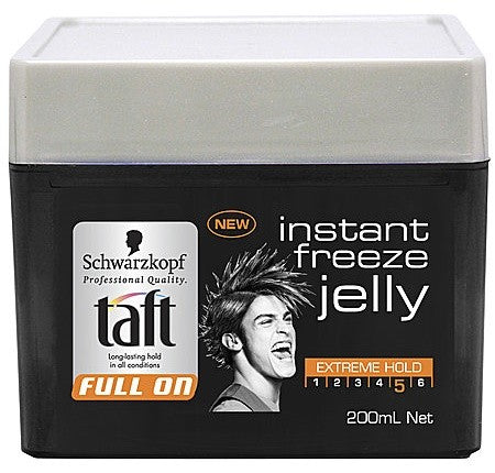 TAFT FULL ON INSTANT FREEZE JELLY 200ML