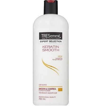 TRESEMME CONDITIONER KERATIN SMOOTH & CONTROL 750ML