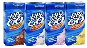 SANITARIUM UP & GO LIQUID BREAKFAST 350ML