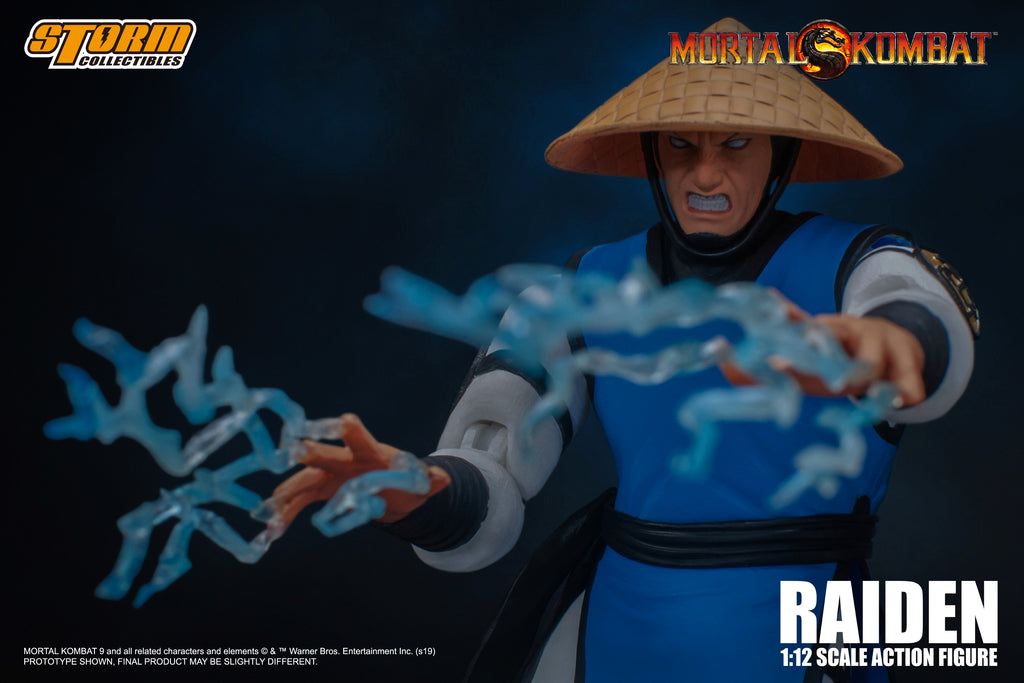 Raiden Joins Storm Collectibles' Mortal Kombat Roster