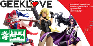 Harley Quinn, Black Canary & Huntress Bishoujo 2nd Edition!