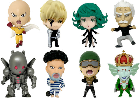 16d Collectible Figure Collection: ONE-PUNCH MAN Vol. 2 (8pc Set)