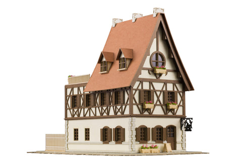 1/150 Anitecture Rabbit House Papercraft Kit Is the Order A Rabbit
