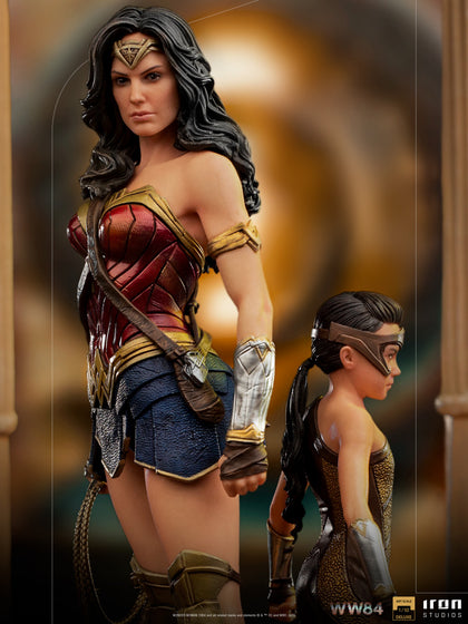 Wonder Woman 1984 Wonder Woman & Young Diana Deluxe Art Scale 1/10