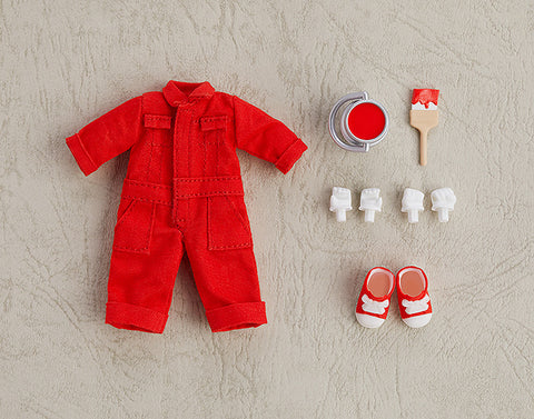 Nendoroid Doll Outfit Set Colorful Coveralls