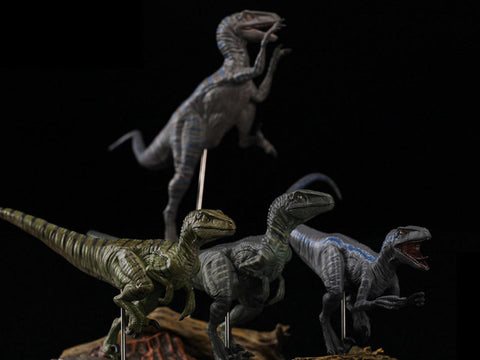 Jurassic Series Tactical Team (Diana) Raptor 1/35 Scale Figure Set