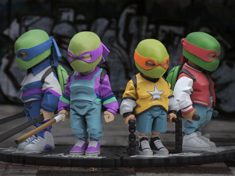 TMNT By Danil Yad Set of 4 Limited Edition Figures