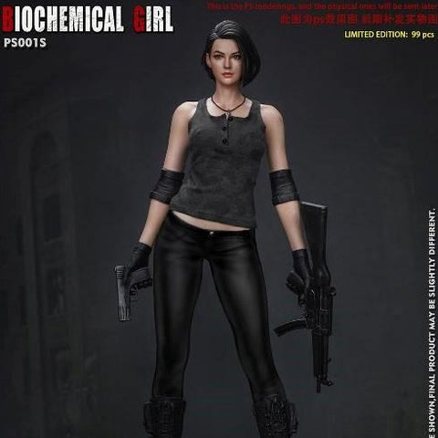 Biochemical Girl 1/4 Scale Statue Camouflage Ver.