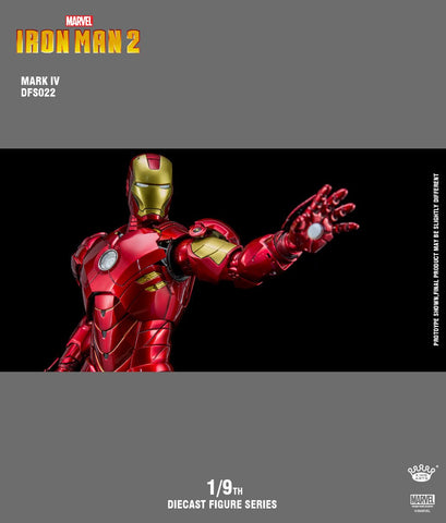 King Arts: Iron Man Mark 4 1/9 Scale DFS022
