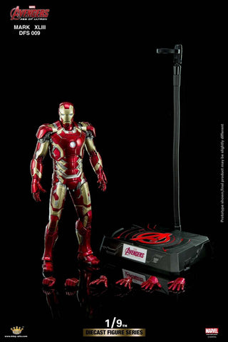 Pre Order King Arts 1/9 Diecast Figure Series DFS009 Iron Man Mark 43 Action Figure - GeekLoveph