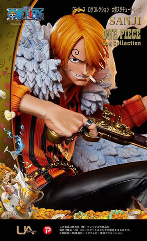 One Piece Log Collection Sanji Statue