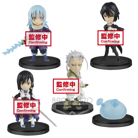That Time I Got Reincarnated as a Slime WCF Vol. 3 Boxed Set of 6 Figures