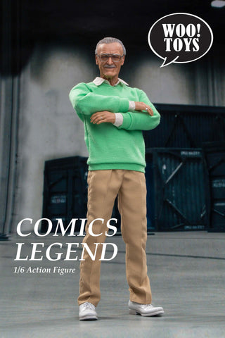 Pre Order Stan Lee WO-001 : Comic legend 1/6