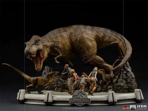 Jurassic Park The Final Scene Dem Art Scale 1/20