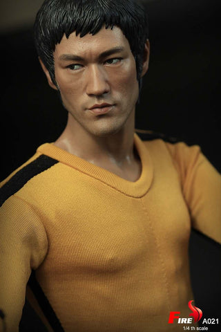 FIRE A021 1/4 Death Game Double headsculpt Bruce Lee