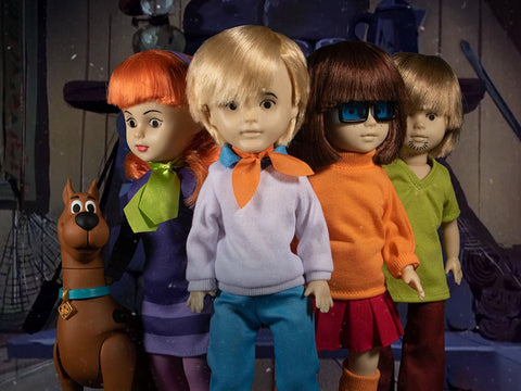 LDD Presents: Scooby-Doo Mystery Inc. Set (Scooby-Doo Build-A-Figure)