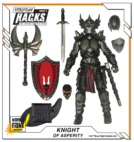 Vitruvian H.A.C.K.S. SERIES 2 - Knight of Asperity