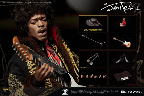BLITZWAY Jimi Hendrix 1/6 Scale Action Figure