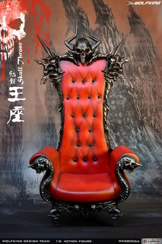 WK88006A Skull Throne 1/6 Scale