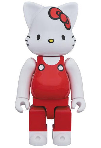 Pre Order BE@RBRICK 400% Hello Kitty (Red Overall Version) - GeekLoveph
