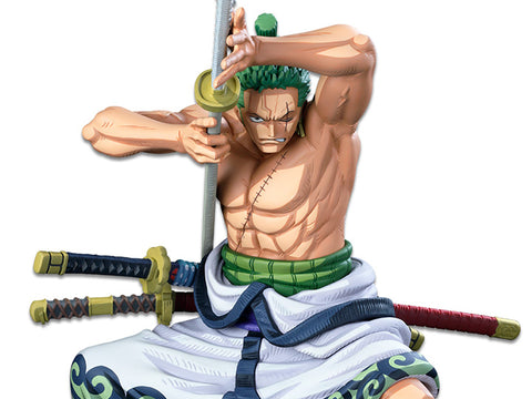 One Piece World Figure Colosseum 3 SMSP Roronoa Zoro (Two Dimensions)