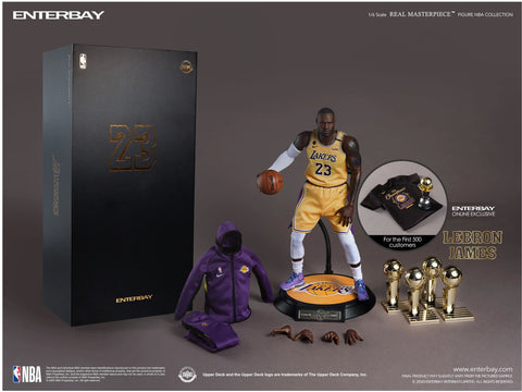 Enterbay Masterpiece NBA Collection LeBron James 1/6 Scale Figure