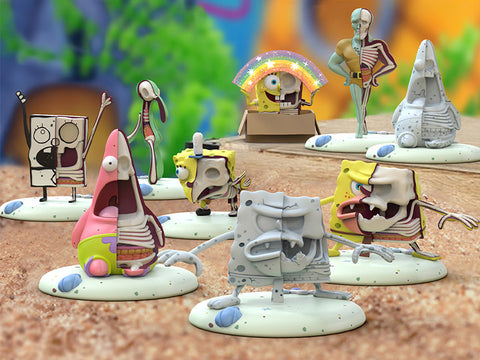 SpongeBob SquarePants Freeny's Hidden Dissectibles (Meme Edition) Single Blind Box