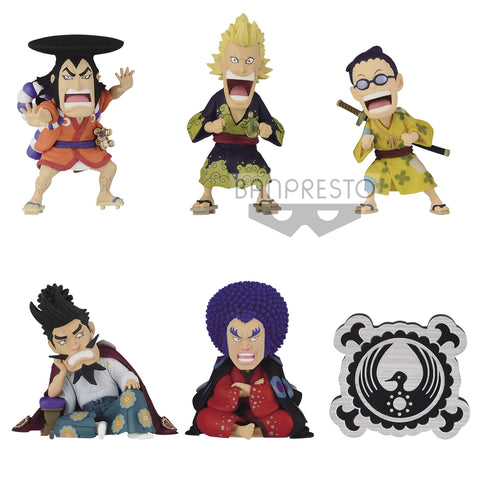One Piece WCF Wano Country Kaisouhen Vol.1 Set of 6