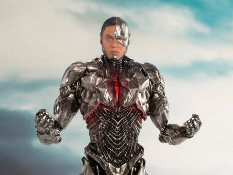 Justice League Movie Cyborg ARTFX+ Statue - GeekLoveph