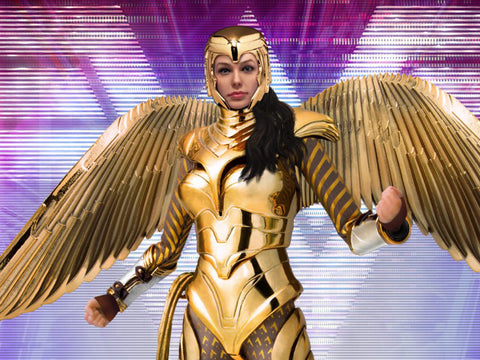 Dynamic 8ction Heroes DAH-026 Wonder Woman (Golden Armor)