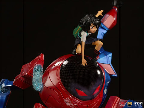 Spider-Man: Into the Spider-Verse Battle Diorama Series Peni Parker & SP//dr 1/10 Art Scale Statue