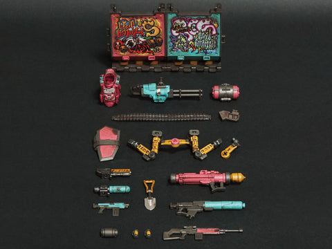 Acid Rain FAV-AP04 Viva la Loca Halogen Fire Weapons Pack