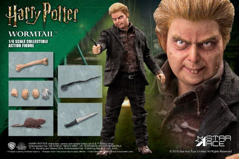 "STAR ACE TOYS HARRY POTTER - ""WORMTAIL"" PETER PETTIGREW 1/6 SCALE ACTION FIGURE Regular Ver."