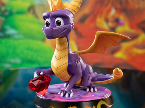 "F4F Spyro The Dragon 8"" Statue"
