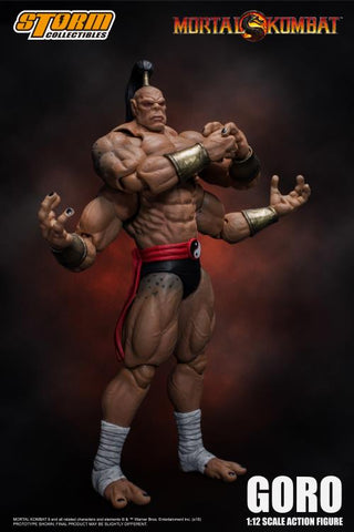 Storm Collectibles: Mortal Kombat - Goro 1/12 Scale Figure
