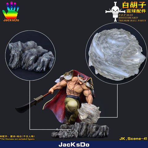 JacksDo - P.O.PMAX Whitebeard Tremor Ball Parts