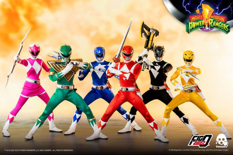 Mighty Morphin Power Rangers Core Rangers & Green Ranger 1/6 Scale Figure 6-Pack