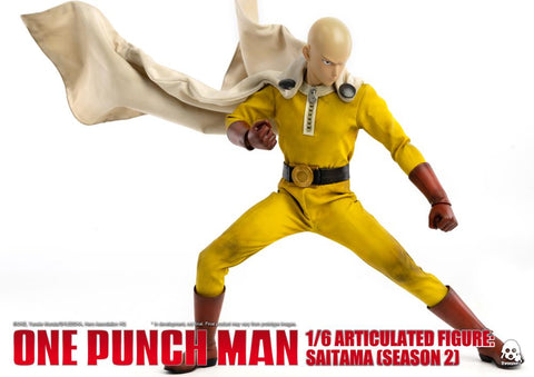 ThreeZero: One Punch Man Season 2 - Saitama 1/6 scale