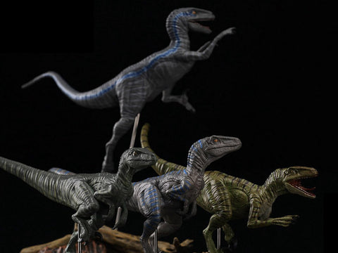 Jurassic Series Tactical Team (Edgar) Raptor 1/35 Scale Figure Set