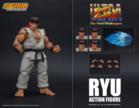 Storm Collectibles: Street Fighter II Ryu 1/12 Scale
