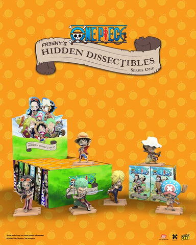 Mighty Jaxx Freeny's Hidden Dissectibles: One Piece (Box of 12)